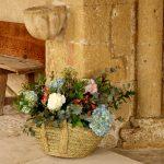 ramo boda religiosa boda lavanda