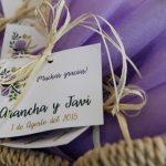 Regalos para invitados Arancha y Javi