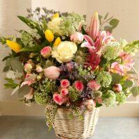cestito de flores loving lavanda