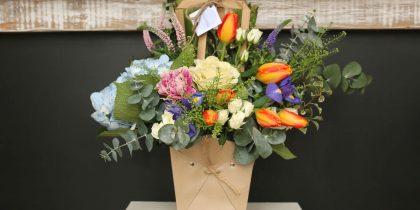 Flores Loving Papel Kraft
