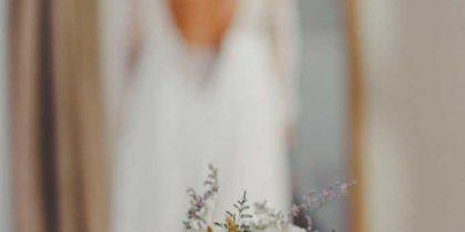 Ramo y novia loving lavanda flores en segovia