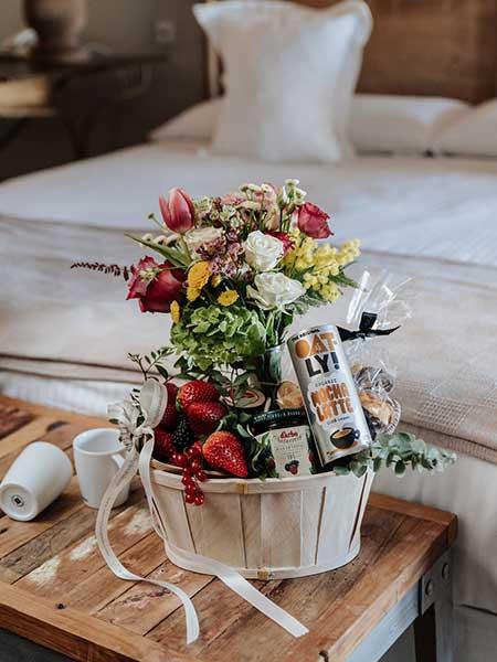 Especial desayuno con flores