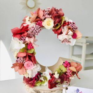 Letra Flores Variadas